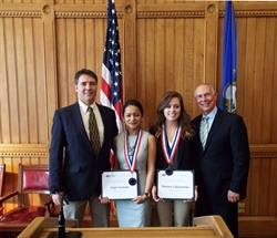 Two NVCC Students Make All-Connecticut Academic Team