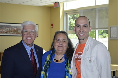 NVCC Hosts Leaders of the Hispanic Federation to Encourage Advocacy for Community Colleges