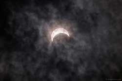 NVCC Campus Community Shares Glasses to View Dazzling Eclipse