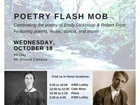 Poetry Flash Mob