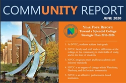 NVCC President Daisy Cocco De Filippis, Ph.D. Presents Final Community Report Bidding Farewell to the College