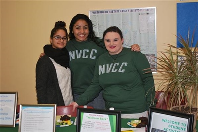 NVCC Welcomes New Students, Families as Spring Semester Commences