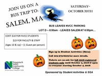 Bus Trip to Salem, MA (SOLD OUT)