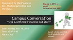 Campus Conversation-Q & A with the Financial Aid Staff