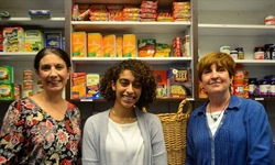 United Way Grant Supports NVCC's Student Food Pantry