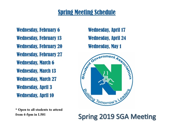 Student Government Association Meetings