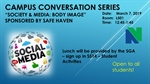 Campus Conversation - Society & Media