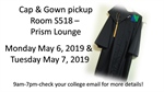 Cap & Gown Pickup