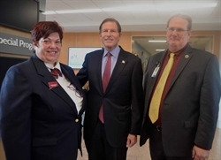 NVCC Hosts Connecticut Senator Richard Blumenthal at HOSA