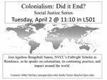 Social Justice Series - Colonialism: Did it End