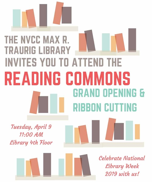 Grand Opening of the Reading Commons: NVCC Library