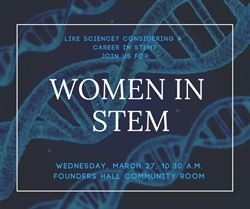 NVCC Hosts Women in Science Seminar