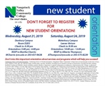 New Student Orientation - Danbury Campus