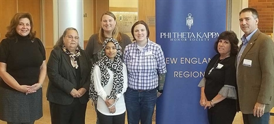 Naugatuck Valley Community College Hosts National Phi Theta Kappa