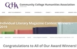 Community College Humanities Association Honors Naugatuck Valley Community College's Literary Magazine