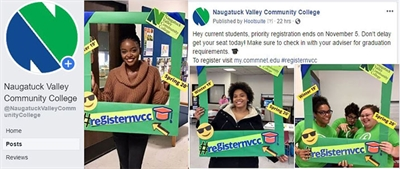 Naugatuck Valley Community College Students Use Creativity to Contribute Generously to Campus