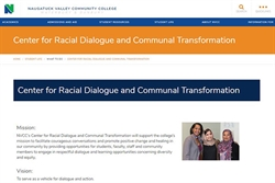NVCC Center for Racial Dialogue and Community Transformation Planning for Fall Semester with Robust Schedule of Events
