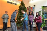 SGA Tree Trimming Ceremony Kicks Off Month of Philanthropic Holiday Celebrations at NVCC