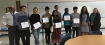 Danbury High School Hosts Naugatuck Valley Community College to Present DECO Recognition Awards