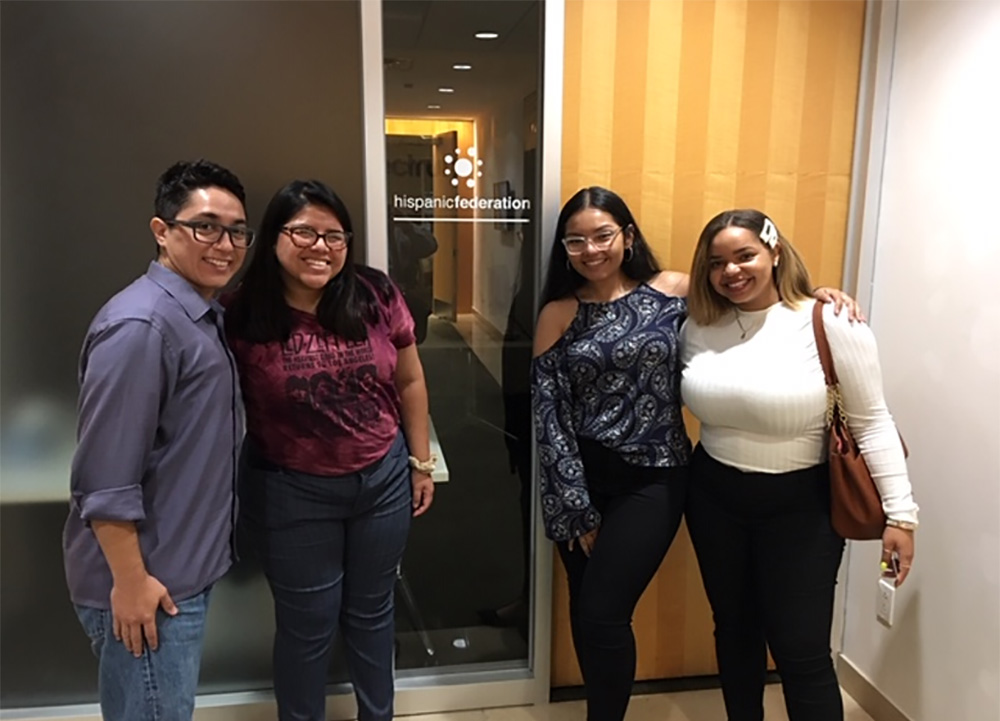 Hispanic Federation Sponsors NVCC Students to Participate in